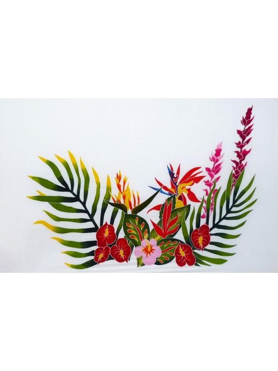 Paréos Par Terre de Fleurs