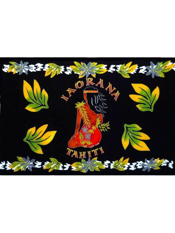 PARÉO IAORANA TAHITI