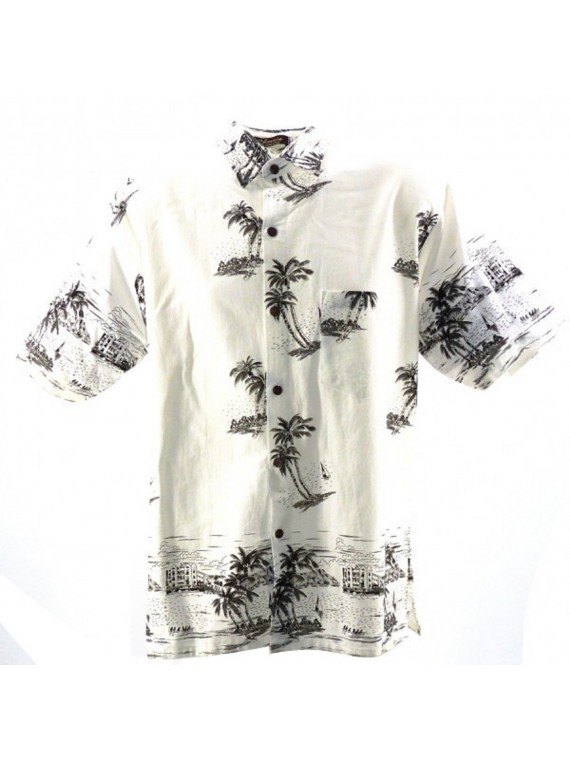 Chemise blanche island
