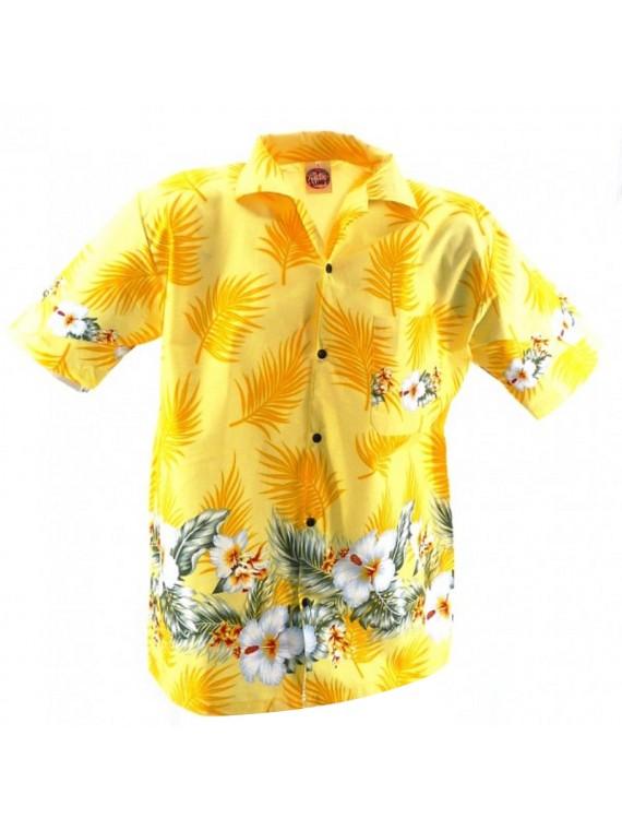 Chemise hawaïenne Frise Hibiscus