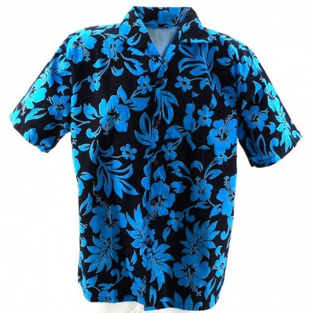 Chemise Hawaïenne bicolor