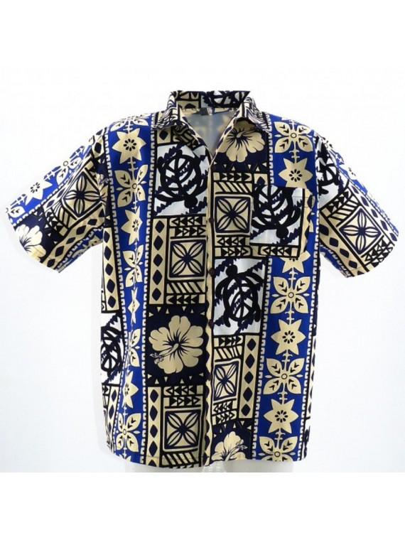 Chemise Hawaïenne Modern Tapa