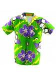 Chemise Hawaïenne hibisurf