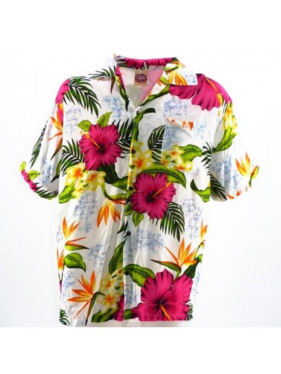Chemise hawaïenne paradis
