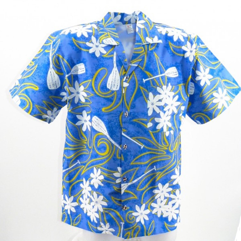 Tiaré Pagaie Chemise Chemise Tahitienne Tiaré Chemise Pagaie Tahitienne Turquoise Turquoise FcJK1l