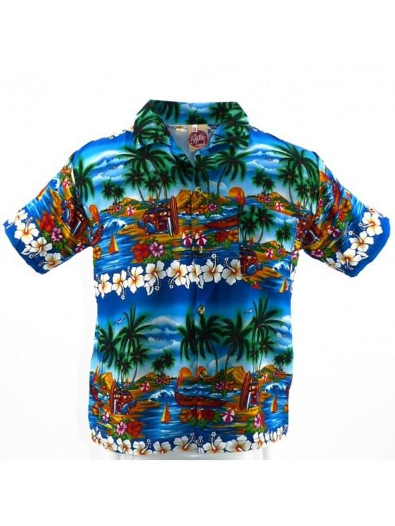 Chemise hawaïenne enfant uluwatu