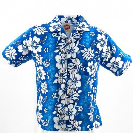 Chemise hawaïenne enfant turquoise Sun Glasses