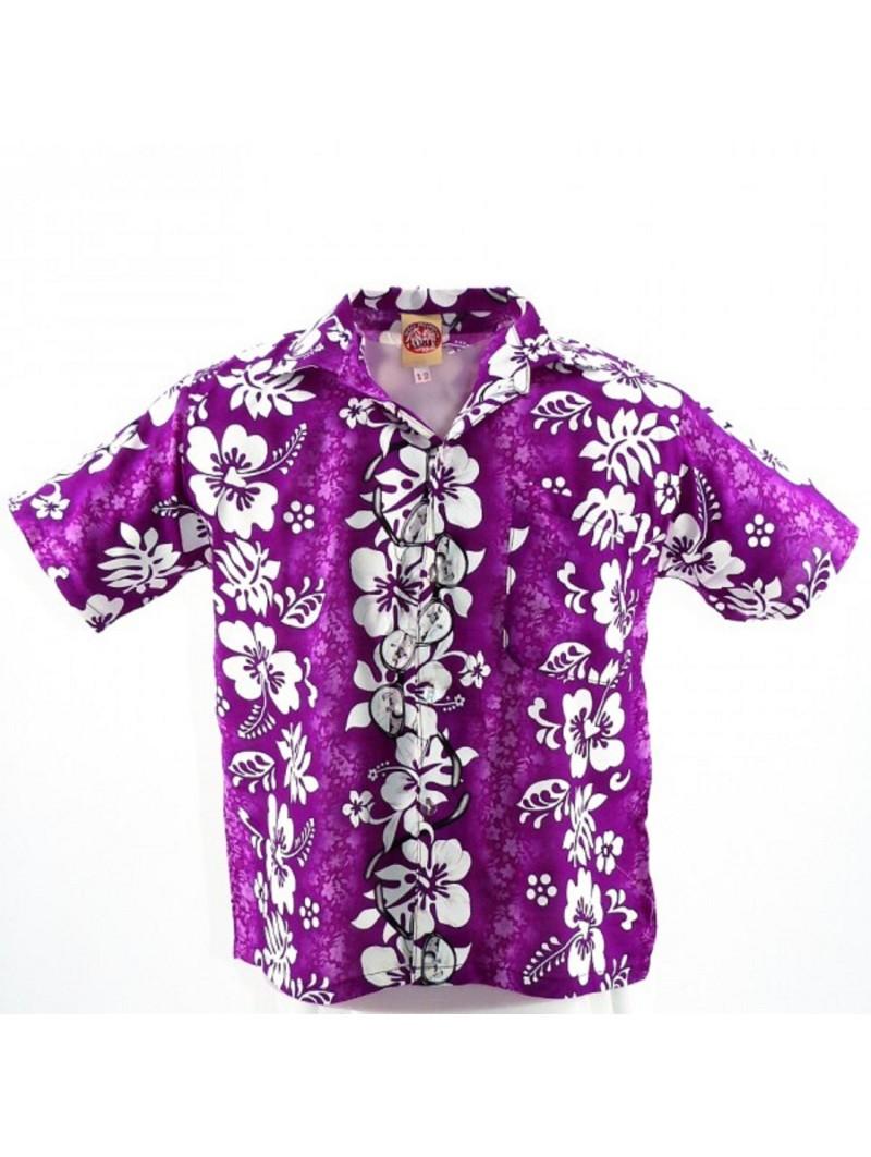 Chemise hawaïenne enfant Sun Glasses