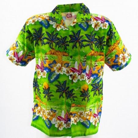 Chemise Hawaïenne Plage