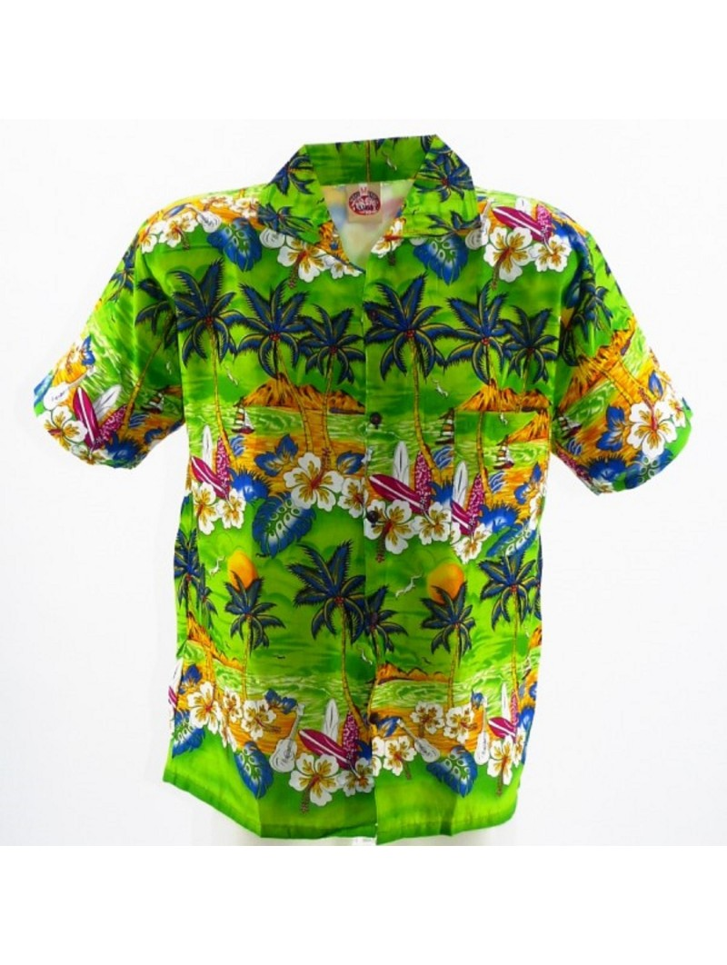 Chemise Hawaïenne Garçon Plage