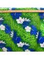 Tissu hibiscus fond tattoo