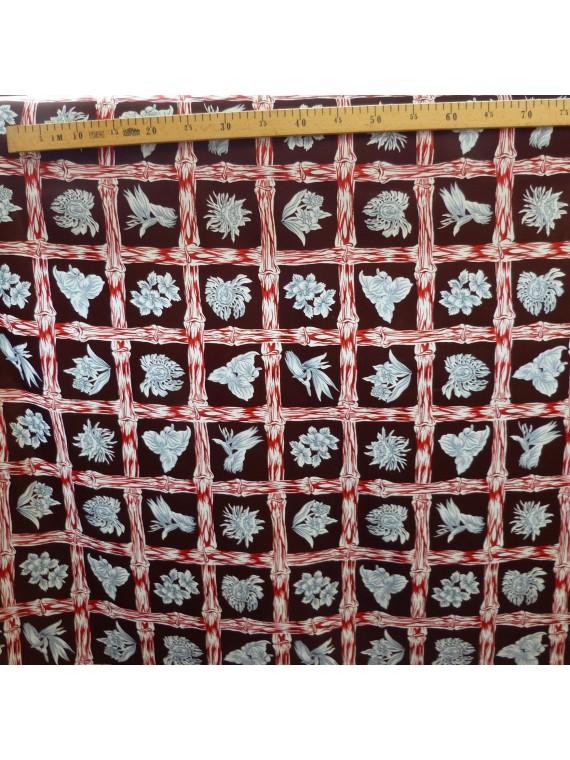 Tissu marron Bambuseae