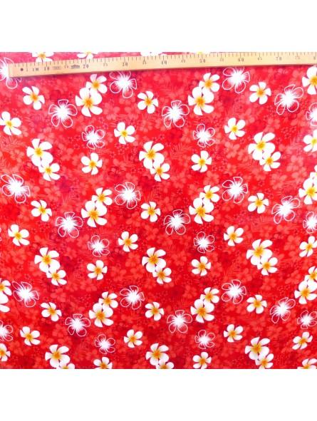 tissu rouge petite frangipane produit pacifique. Black Bedroom Furniture Sets. Home Design Ideas