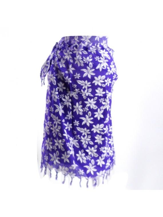 Paréo violet Tiaré