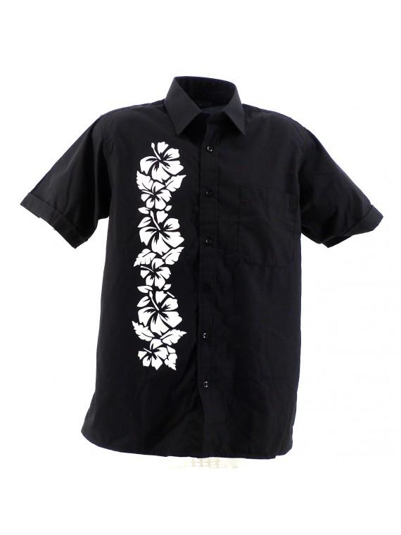 Chemise Noir tanura