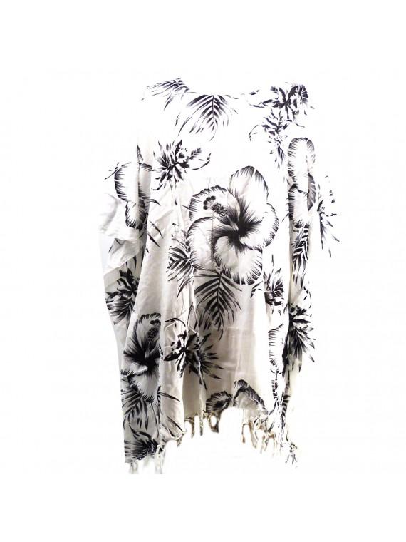 Tunique monochrome blanche Femme
