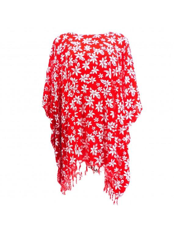 Tunique rouge Femme petite tiaré