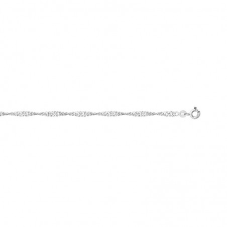 Chaine en argent 2.4 mm pour pendentif