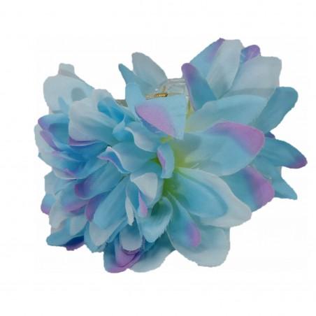 Pinces à cheveux croco gardiena bleu