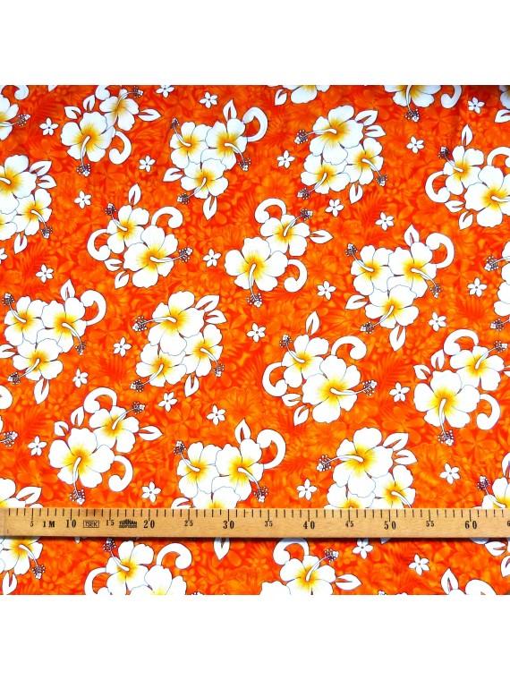 Tissu orange karoiki