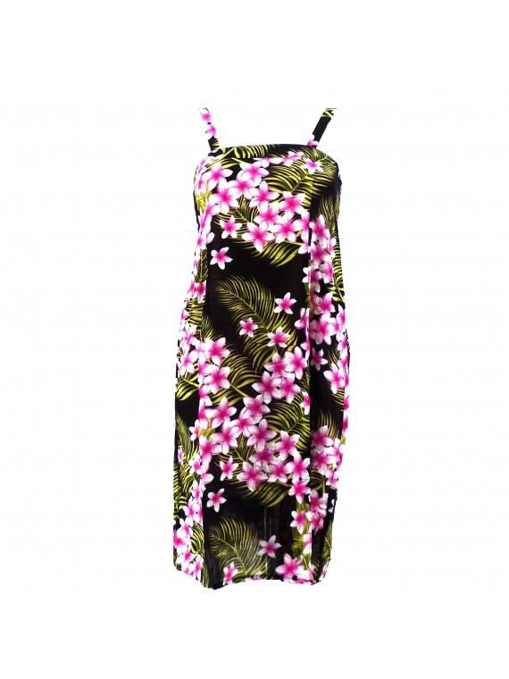 Légère robe d'été frangipane forest