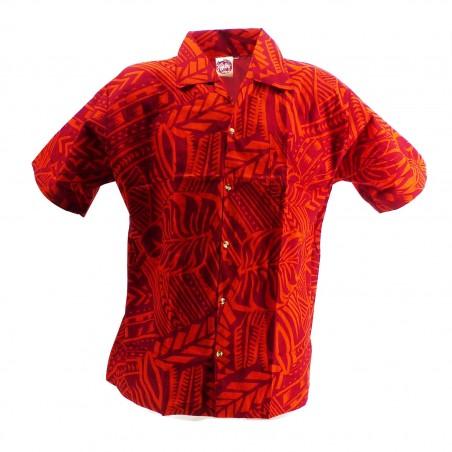 Chemise hawaïenne enfant Tatouage Rahi