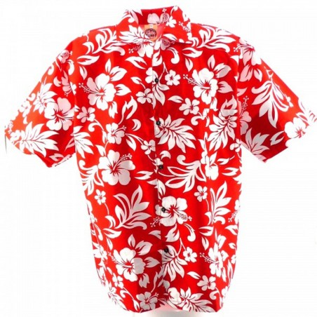 Chemise enfant Rouge Tahiti best seller