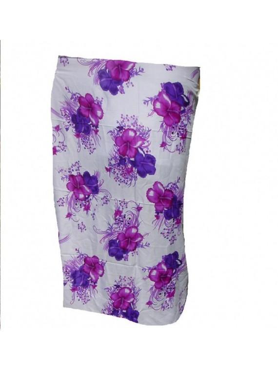 Paréo Hibiscus Art violet