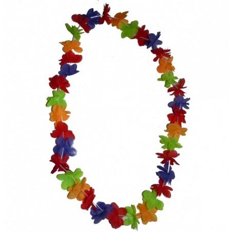 Collier de fleurs multicolore 1er prix