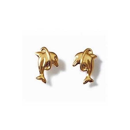 Boucle d oreille dauphin cerceau