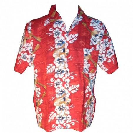 Chemise Hawaïenne Yukulélé