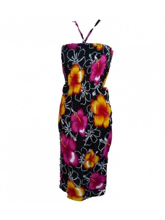 Robe d'été hibiscus bicolor
