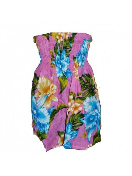 robe bustier Hawaï enfant
