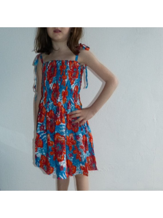 robe jungle multicolor enfant