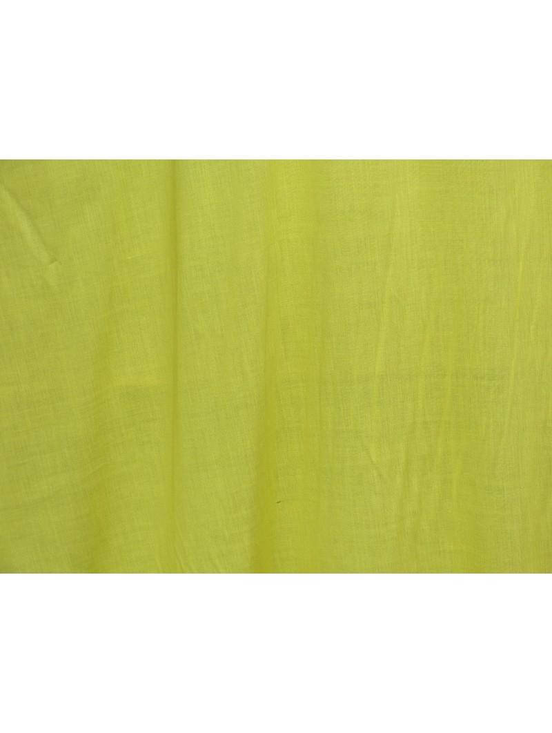 Tissu fibrane uni jaune