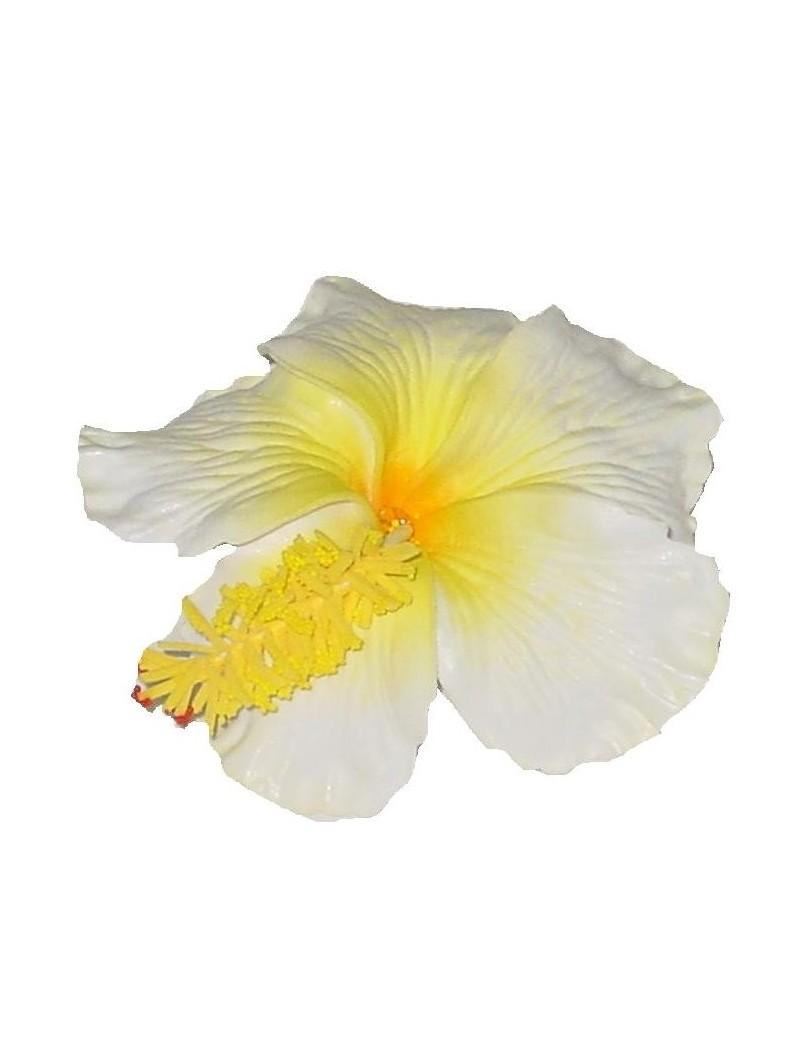 Barrette à cheveux Hibiscus gros pistil
