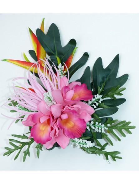 Composition triple orchidée