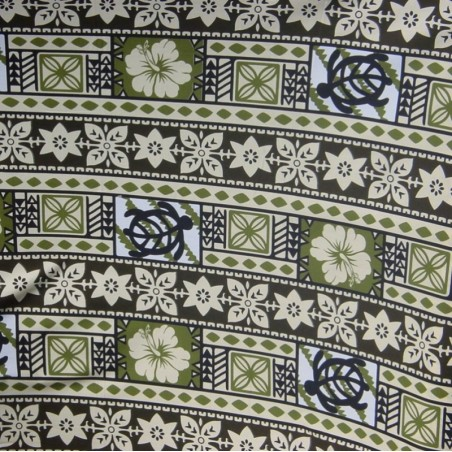 Tissu coton moderne tapa