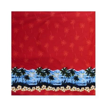 Tissu coton PALM BEACH