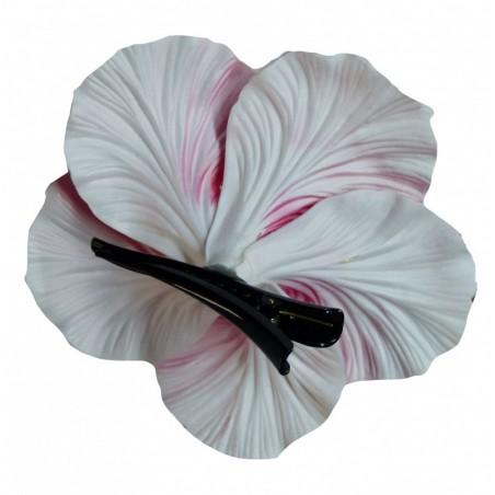 Très grosse barrette à cheveux Hibiscus