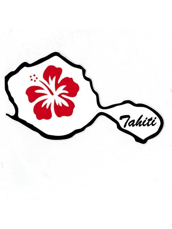 Autocollant Îles de Tahiti