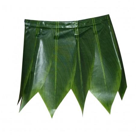Mini jupe de feuilles