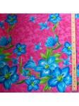 Tissu Rose grappe de fleurs