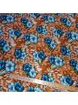 Tissu viscose Hawaï sixties