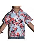 Chemise hawaïenne tortue enfant