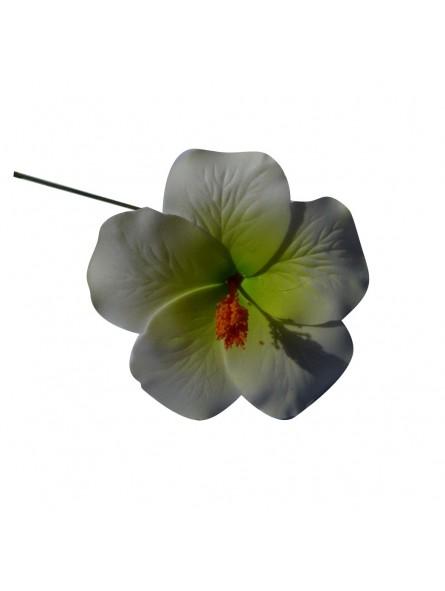 Hibiscus sur tige métale