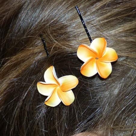 Barrette à cheveux pour enfant frangipane