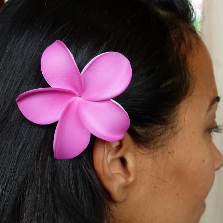 Elastique à cheveux frangipane