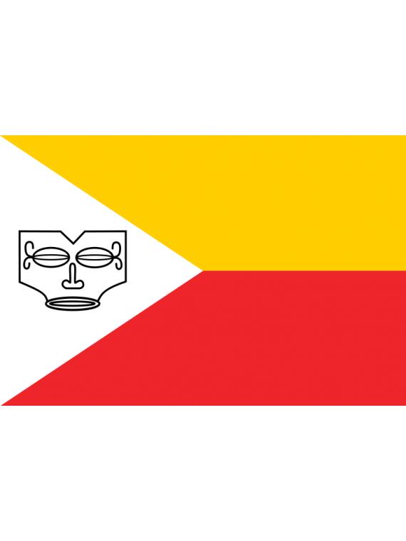 Autocollant  drapeau Îles Marquises