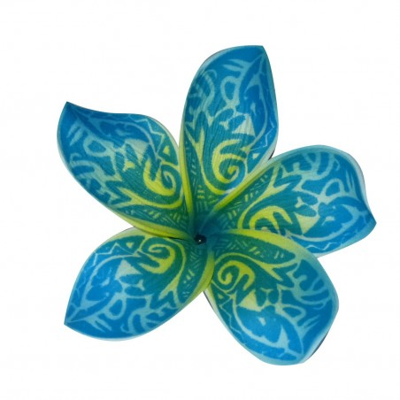 Barrette fleurs tatoué